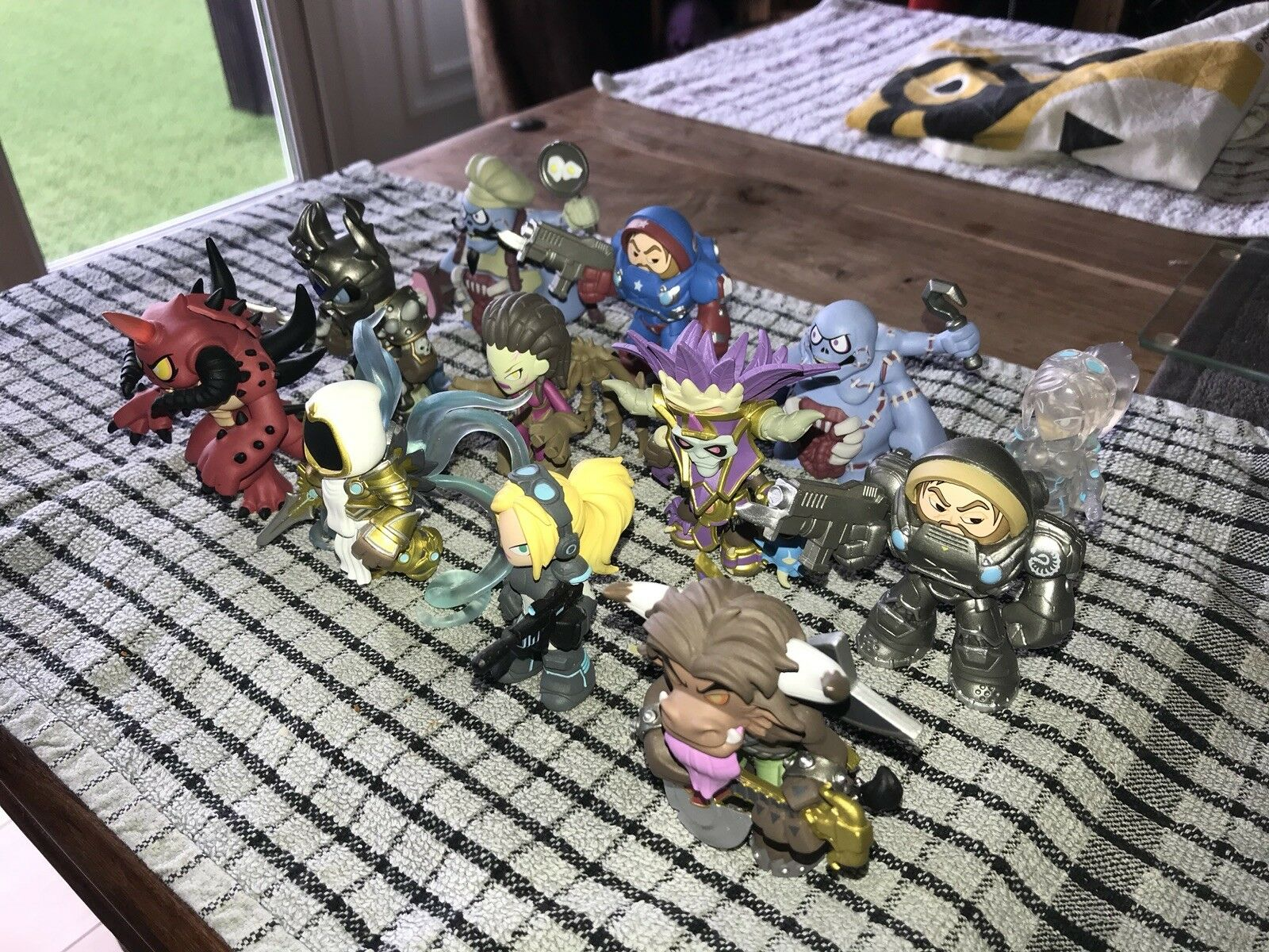 Heroes Of The Storm - Complete 12 Figure Set - Blizzcon Diablo Wow Warcraft