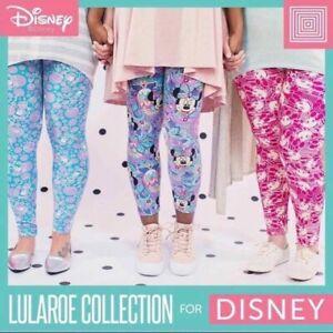 Impartial Lularoe Mystery Disney Leggings Os