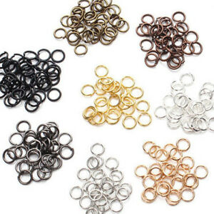 Lot-50-500Pcs-Steel-Loop-Split-Jump-Rings-Connectors-Jewelry-Finding-4-14mm