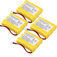 4x Home Phone Battery For Ge General Electric 5-2548 5-2549 5-2565 5-2669 5-2459