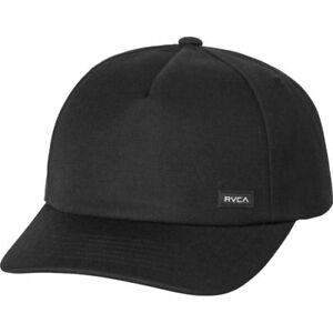 official photos 85cc4 b6f48 Image is loading RVCA-Solo-Curved-Bill-Snapback-Hat-NEW-5-