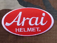ECUSSON PATCH THERMOCOLLANT aufnaher toppa ARAI HELMET casque moto motard course