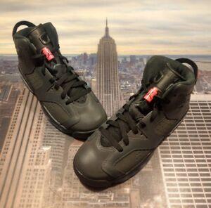 077ee05d030ae5 Nike Air Jordan VI 6 Retro Anthracite Black GS Grade School Size 7Y ...