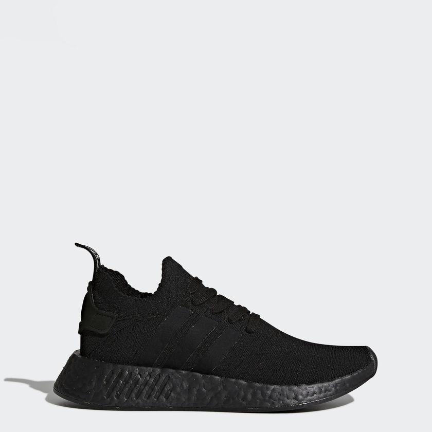 Adidas Originals NMD R2 Primeknit Triple Black Comfortable