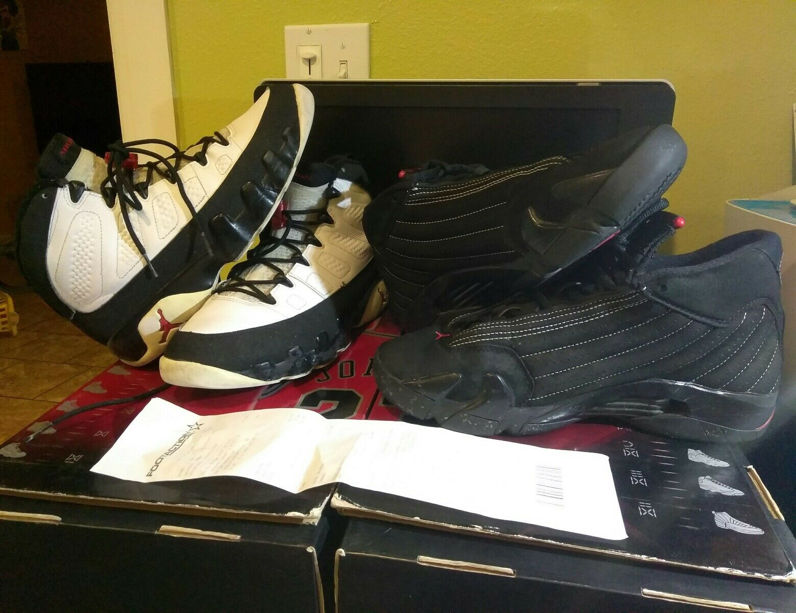 Nike Air Jordan Collezione 14 9 Countdown Pack  318541-992 Sz 8 shoes 03-28b
