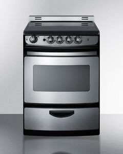 Image Is Loading Summit Rex245ssrt 24 034 Slide In Electric Range