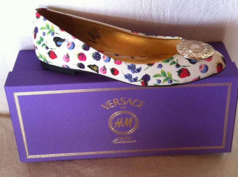 Versace for HM Cruise Collection Schuhe Ballerina  EUR 41 Größe  Ballerina  10 UK 8 576545