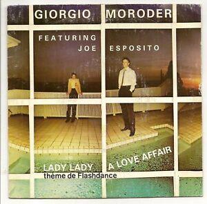 """MORODER Giorgio Vinyl 45T 7"""" SP A LOVE AFFAIR  F Reduit"""