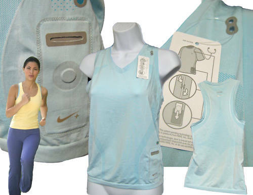 NEW NIKE Ladies Fit Dry IPOD Facility Running    Gym Vest Top NWT Large  discount sale