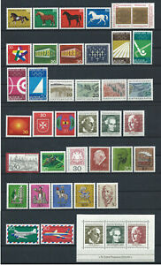 Allemagne-RFA-Annee-1969-Neuf-MNH-Complete