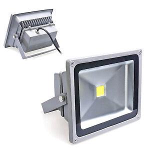Auralum 50W LED Außenstrahler Fluter Flutlicht Kaltweiß