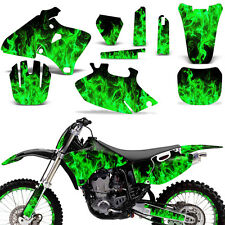 Graphic Kit Yamaha YZF 250/400/426 MX Dirt Bike Stickers Wrap Deco 98-02 ICE GRN