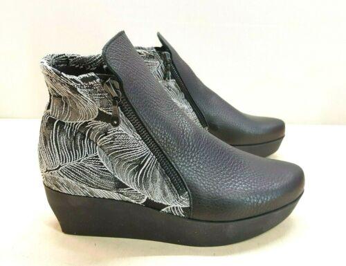 Arca de lujo fujong Hopi Zapatos Cuero stiefletten talla 36 PVP 275 € nuevo 382