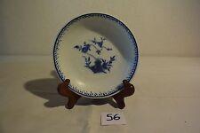 C56 Assiette en porcelaine de Tournai au décor Ronda filet étroit