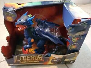 WowWee Untamed Legends Dragon *VULCAN* Dragon Lights Sounds Wings Glows Toy, New