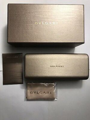 GENUINE BVLGARI SUNGLASSES Case and Box