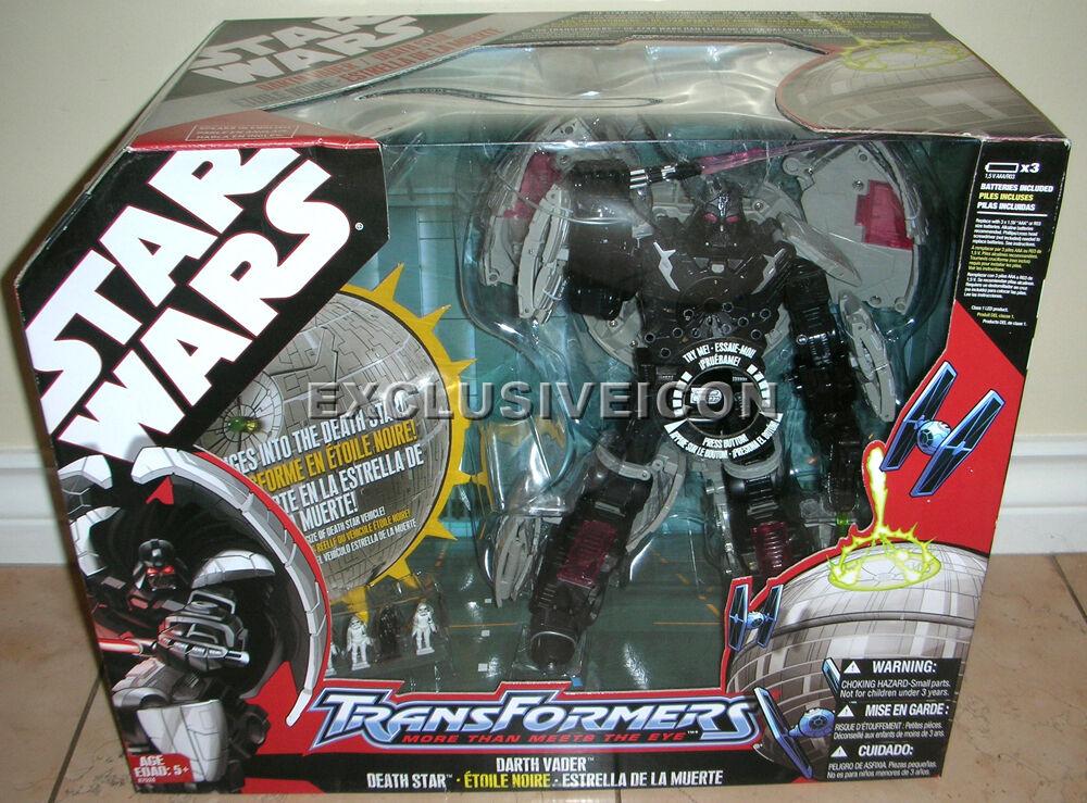 Stjärnornas krig 2007 transformers Dkonsth Vader död stjärna Canadian