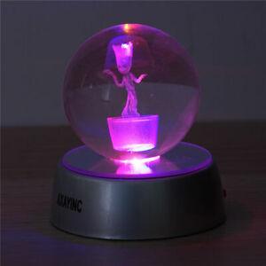 Dragon Ball Z Son Goku 3D Kristall LED Tischleuchte Tischlampe Expressversand