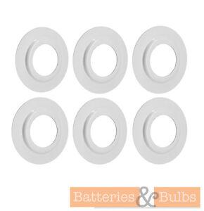 Abat-jour-anneau-metallique-Convertisseur-Adaptateur-Reducteur-Pack-de-6