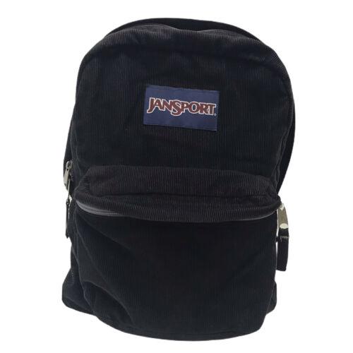 Jansport  Black Courduroy Backpack T501