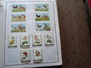 Suche Nach FlüGen Ajman State tiere/blumen Briefmarke Hitze Und Durst Lindern. 12 Briefmarken Nicht Gestempelt