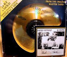 Audio Fidelity Gold CD AFZ 070: Randy Newman - 12 Songs - OOP 2010 Ltd Ed SEALED