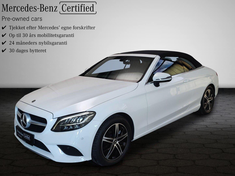 Mercedes C200 1,5 Cabriolet aut. 2d - 639.900 kr.