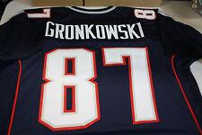 "New England Patriots #87 ROB GRONKOWSKI Custom Jersey SIZE XLG ""GRONK"""