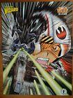 Wizard Comic Book Magazine 2 Sided Poster Star Wars Dark Horse Anime + Spawn