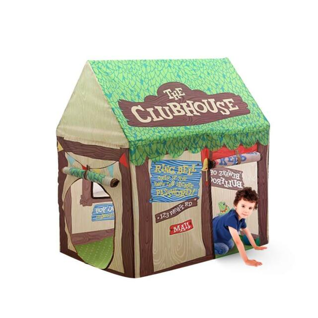 great fit d9f63 89c5c Kids Club House Play Tent Pretend Toy Portable Indoor Outdoor for Toddler  Baby