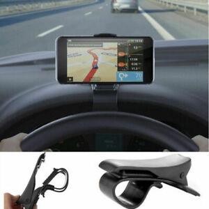 Supporto-da-Auto-Cruscotto-con-Clip-Pinza-Porta-Cellulare-per-Smartphone-GPS