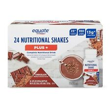 Equate Meal Replacement Shake Vanilla Weight Loss Drink 11 Oz 24 Bottles For Sale Online Ebay