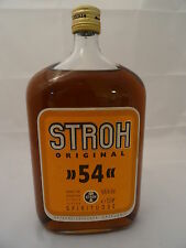 Spirituosen - Barräumung - Original Stroh Rum 54 54%VOL 1L ~70er Jahre abgefüllt