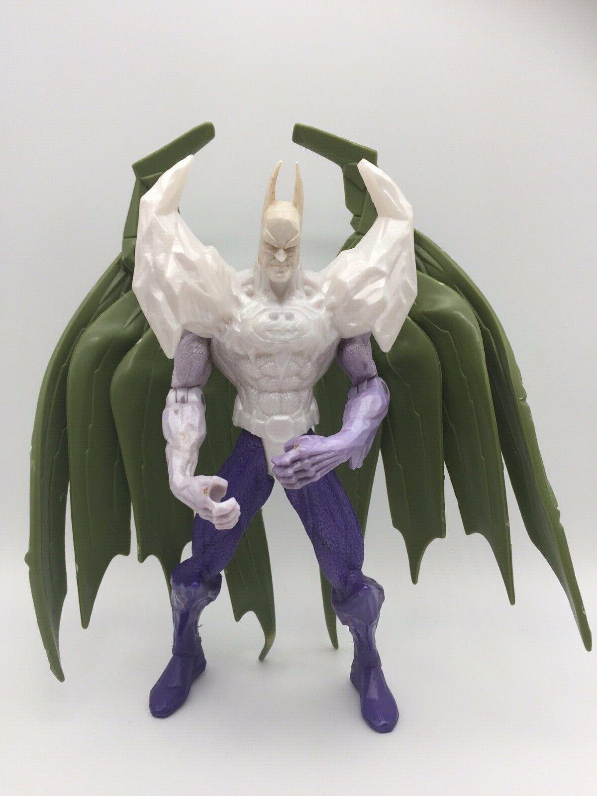 Vintage Predotype Legends Dark Knight BATMAN Glacier Shield Figure Toy Kenner 97