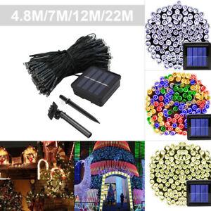 200-100-50-LED-Solar-Power-Fairy-Garden-Lights-String-Outdoor-Party-Wedding-Xmas