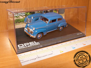 """DIE CAST /"""" OPEL OLYMPIA 1951-1953 /"""" OPEL COLLECTION SCALA 1//43"""