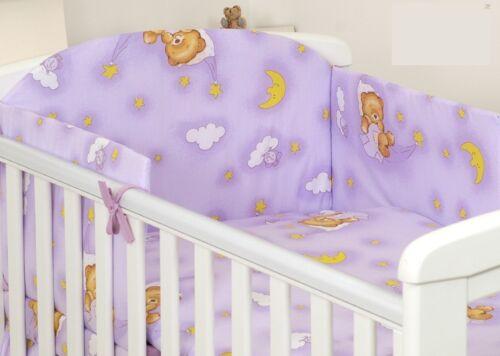UNICORN+40 MORE DESIGNS INSIDE-Baby Bedding Set fit Cot 120x60cm Cot Bed 140x70