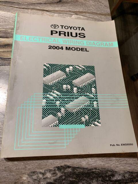 2004 Toyota Prius Oem Evtm Electrical Wiring Diagram