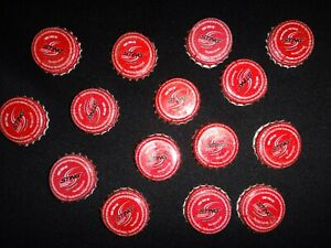 Collection-Of-15-Vietnam-STING-Soda-Metal-Crown-Bottle-Caps
