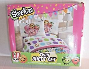 Image Is Loading Shopkins Twin Size Sheet Set Girl 039 S
