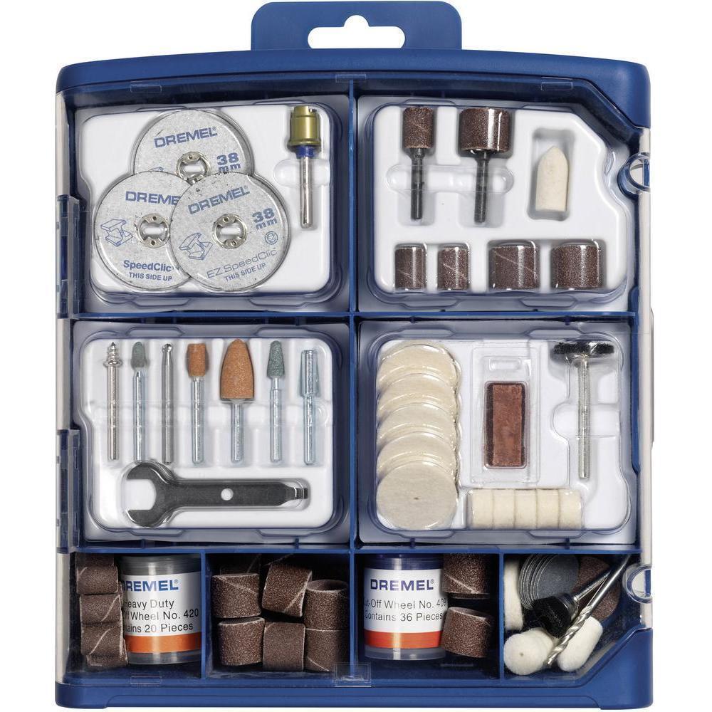 Dremel 724-150 Pce Multipropósito Kit De Accesorios Accesorios Accesorios Para rojoary Multi Herramientas 2615s724ja a3276a