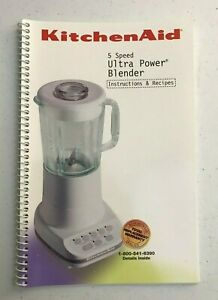 Kitchenaid Blender 5 Speed Ultra Power Owners Manual