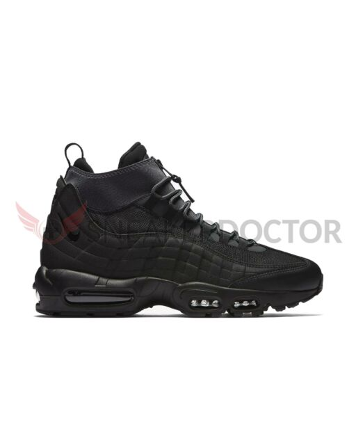 new concept de2e4 3cff9 New Nike Mens Air Max 95 Sneakerboot Black/Black/Anthracite/White Size 8