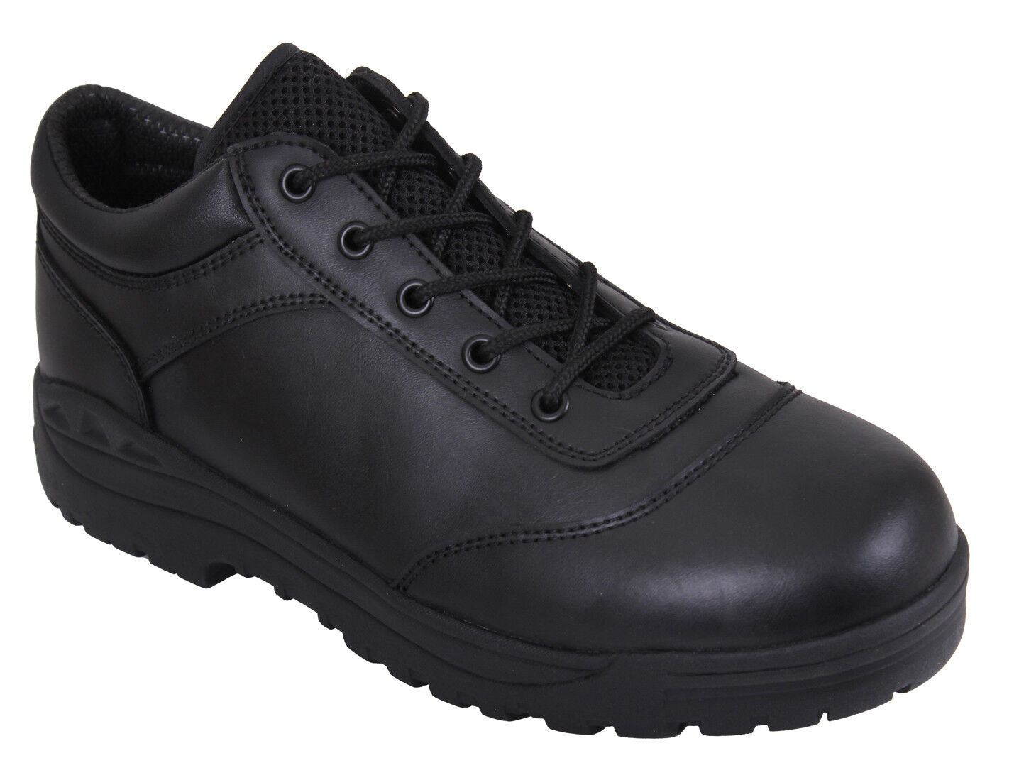 Tactical Utility Oxford shoes Leather shoes Black redhco 5116