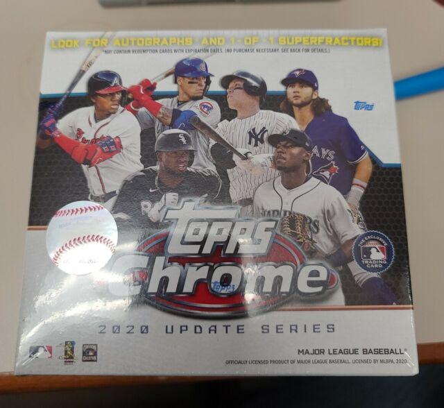 2020 Topps Chrome Update - MLB Baseball Mega Box - Factory Sealed