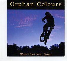(HD871) Orphan Colours, Won't Let You Down - 2015 DJ CD