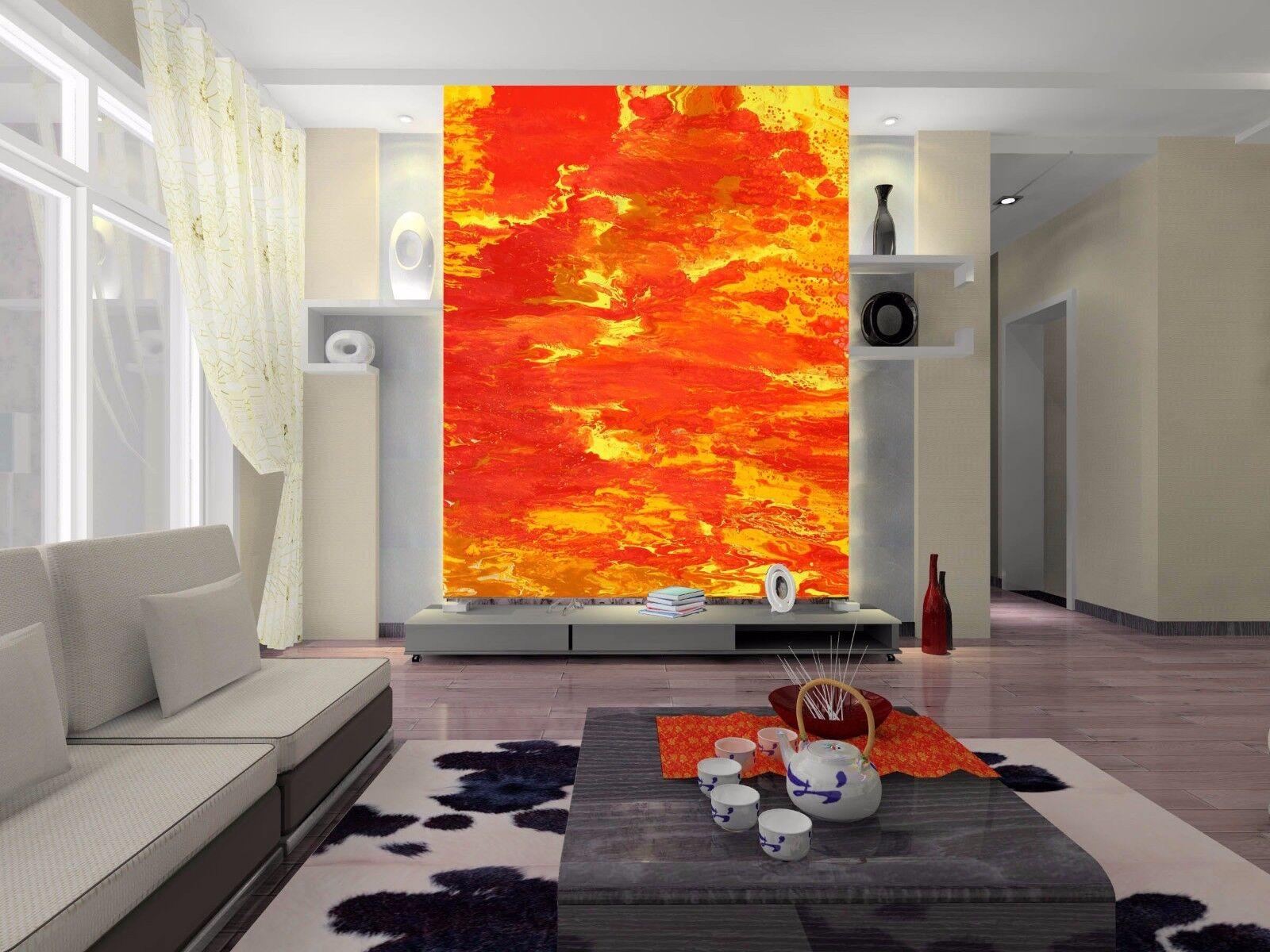 3D Rote Flamme 753 Tapete Wandgemälde Tapete Tapeten Bild Familie DE Summer