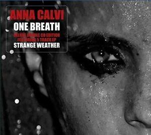 ANNA-CALVI-One-Breath-2014-Deluxe-Edition-2xCD-album-NEW-SEALED