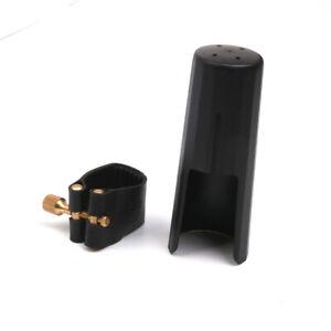 Leder-Blattschraube-Mit-Kunststoffkappe-Fuer-Tenorsaxophon-Saxophonmundstue