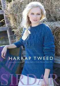 Sirdar-Harrap-Tweed-DK-Book-494-22-designs-for-all-the-family